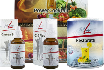 O.S. Extra PowerCocktail + Restorate(p) + Omega 3+E + Q10 Plus